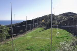 Zona deportiva y mar